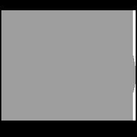 Серый логотип метро